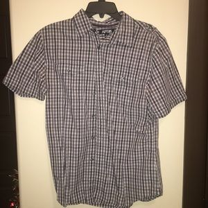 Men Button Shirt Size Medium